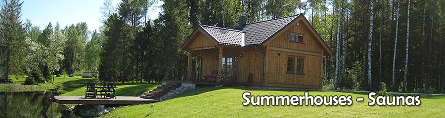 summerhouses - saunas